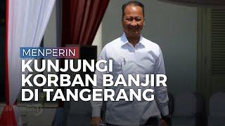 Menteri Perindustrian Pantau Industri Rumahan di Tangerang yang Merugi Ratusan Juta Karena Banjir