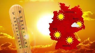 Wetter: Dienstag Am Rhein Bis 38 Grad (24.06.2019)