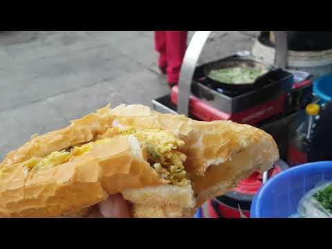ขนมปังไข่เจียวเวียดนาม