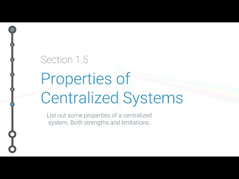 Cryptoeconomics - 1.5 - Properties of Centralized Systems