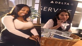 Delta Employee With Ugly Attitude Refused To Give Manager's Name After Airline Ruined Luggage