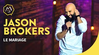 Jason Brokerss Le Mariage