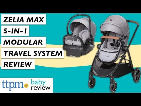 Zelia Max 5-in-1 Modular Travel System from Maxi-Cosi