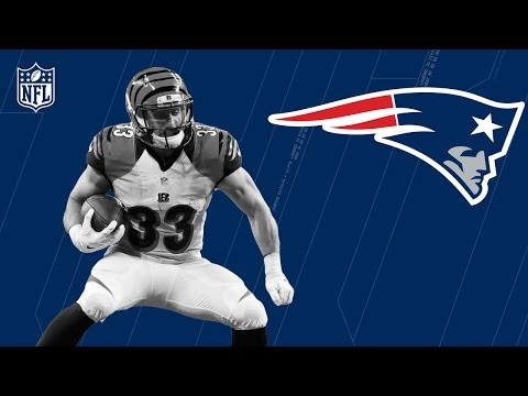 Rex Burkhead Welcome to the New England Patriots | NFL | Free Agent Highlights