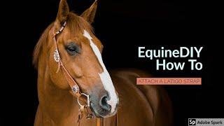 How To Attach A Latigo Strap To Your Saddle - EquineDIY