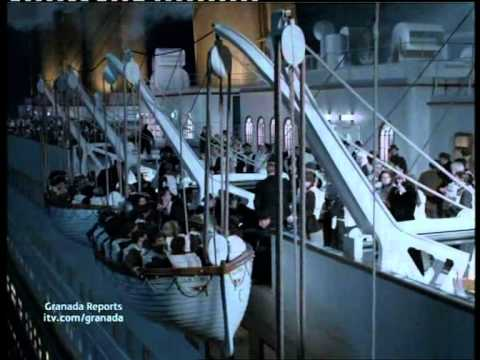 Granada Reports Titanic News article
