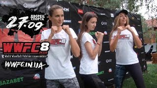 Чемпионка ММА Светлана Гоцык учит приёмам претенденток на Мисс Украина 2017