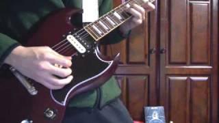 AC/DC - The furor  guitar cover