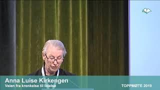 Toppmøte 2019 – Anna Luise Kirkengen