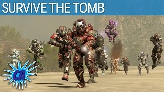Halo 5 Custom Game - Survive The Tomb - dooclip.me