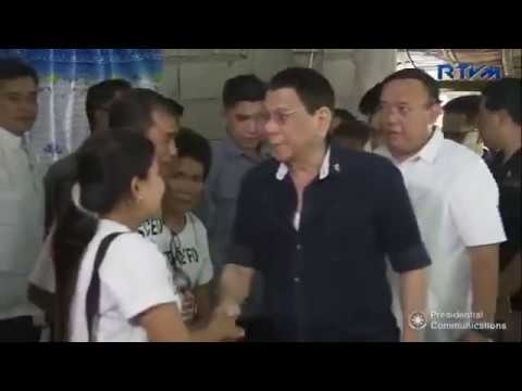 President Duterte visits family of Joanna Demafelis to personally extend his condolences