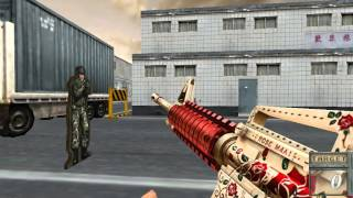 Rose M4A1 With 9th Anniversary Trophie