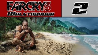 Far Cry 3 Walkthrough - Part 2 - Going Hunting [Far Cry 3 Gameplay Playthrough]