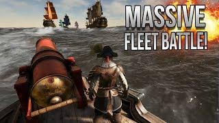 Atlas | Largest Fleet BATTLE EVER (Epic Ambush)