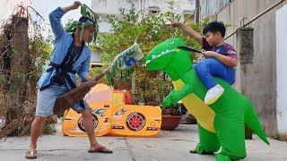 Trò Chơi Làm Ngựa Lá Chuối ❤ ChiChi TV ❤ Đồ Chơi Trẻ Em Ride On The Horse Toy