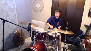 Econoline Crush  - Trash -  Drum Cover