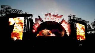 AC/DC Auckland 2015. Show opening & Rock or Bust