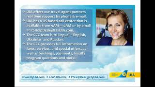Webinar: Ukraine Int l Airlines Ukraine. So Much More! Learn and Win a Free UIA