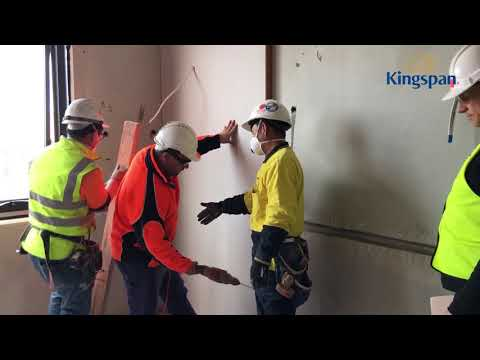 How to Install Kooltherm K17 Insulated Plasterboard