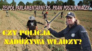 Czy policja nadużywa władzy względem detektorystów?