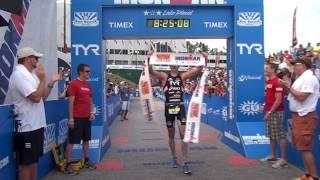 Andy Potts Wins 2012 Ironman Lake Placid Highlights