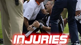NFL Non-Players Getting Injured (Referees, Coaches, Cameramen)