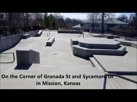 "Roeland Park ""RoPo"" Skatepark Overview"