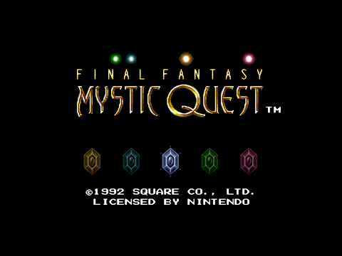 Final Fantasy: Mystic Quest Walkthrough 1080P 60FPS XBRZ
