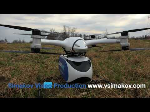Cargo drone promotion video.
