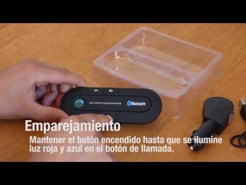 Tutorial de instalación sistema manos libre, altavoz y micrófono, en tu automóvil