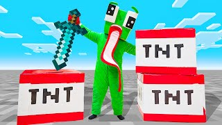 OPENING TNT BLOCKS IN REAL LIFE!