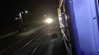 preview picture of video '12393 Sampoorna Kranti Express overtaking 15126 Janshatabdi'