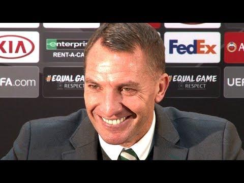Celtic 0-2 Valencia – Brendan Rodgers Post Match Press Conference – Europa League