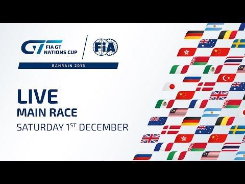 Main Race - Bahrain - FIA GT Nations Cup 2018 - As Live.