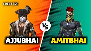 Ajjubhai94 vs Amitbhai (Desi Gamer) Best Clash Battle Who will Win - Garena Free Fire