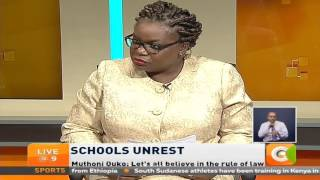 VIDEO: Opinion Court- Schools Unrest