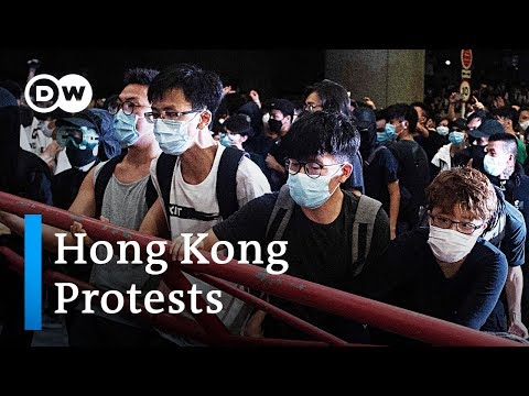 Hong Kong protests against extradition law set to continue | DW News