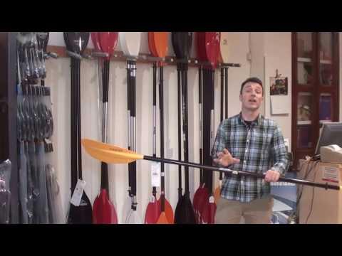 ¿Cómo elegir la pala para tu kayak sit-on-top?