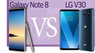 Инфо. Выбор между Samsung Galaxy Note 8 и LG V30
