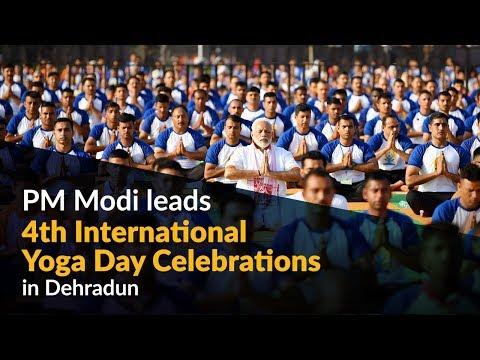 PM Modi to lead 4th International Yoga Day Celebrations in Dehradun