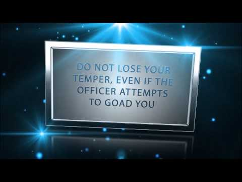 What Not To Do If You Get Arrested | Law Office of Steven Gomberg
