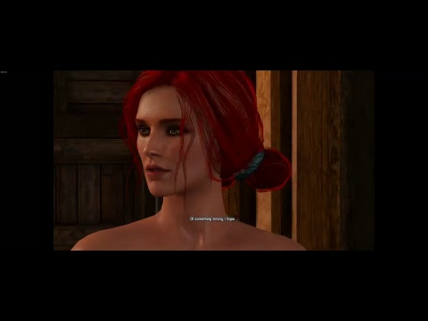 Witcher 1 Prologue Remastered: Triss Sex Scene (Witcher 3