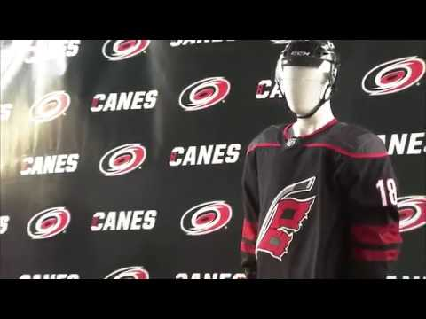 31cb78201eb Carolina Hurricanes unveil new uniform for the 2018-19 NHL season