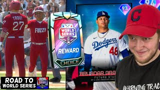 making WORLD SERIES with the best FUTURE STARS..? ROAD TO WORLD SERIES SEASON 2 (mlb the show 20)