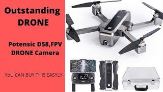 Potensic D58 FPV Drone 1080 Camera, 5G WiFi HD Live Video, GPS Auto Return Amazing Result ....
