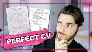 WRITE THE PERFECT CV/RESUME: how to write a fashion Cv to get you noticed and into an interview.