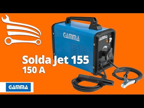 Máquina de Solda Jet 155 150A Mono   - Video