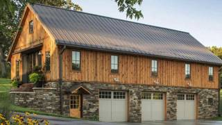 The Ponderosa Timber Frame Barn Home