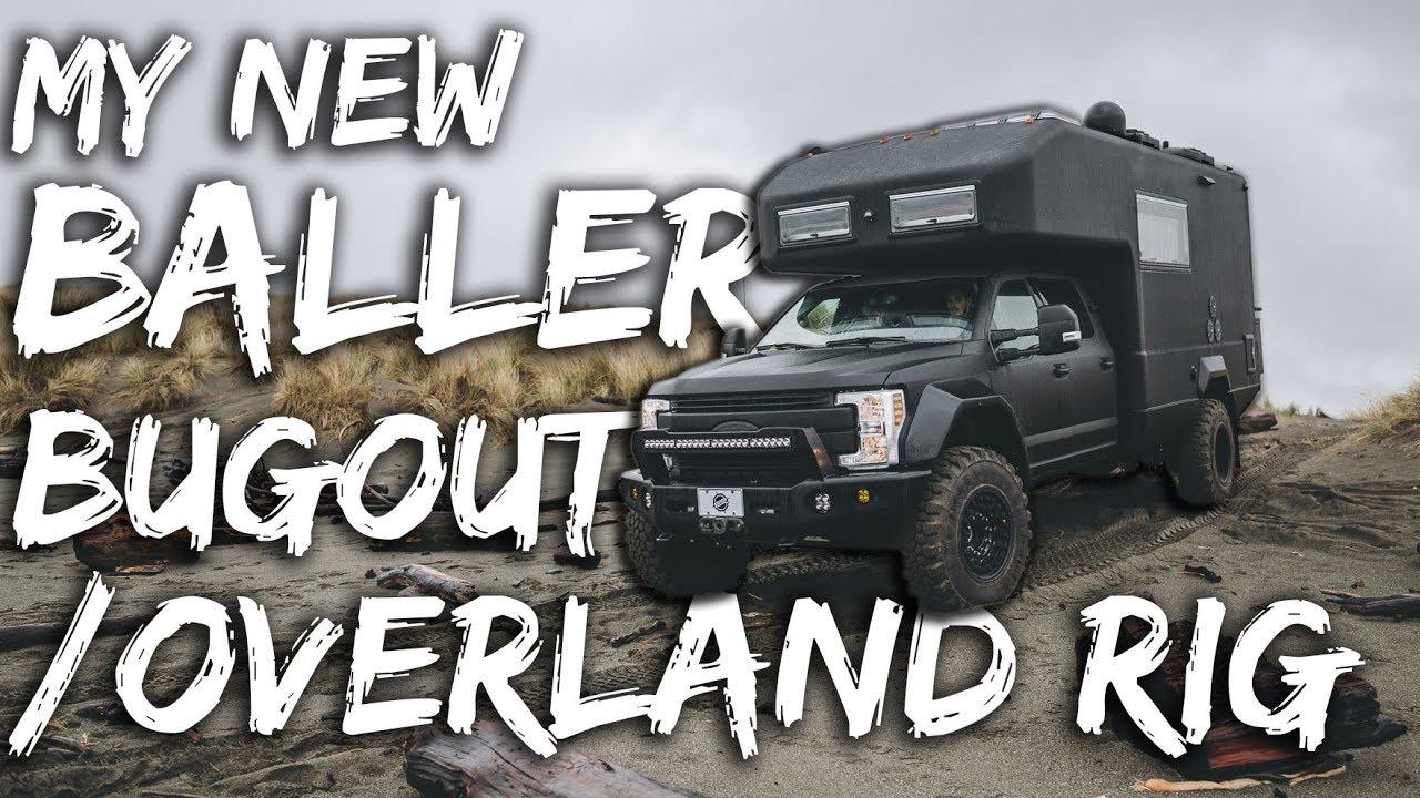 BALLER Overland / Bugout Rig of DESTINY – EARTHROAMER TOUR