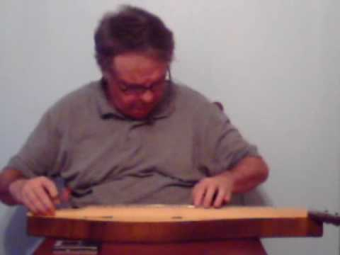 Golden Slippers on dulcimer using finger style.